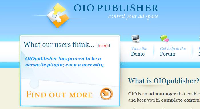 oiopublisher plugin